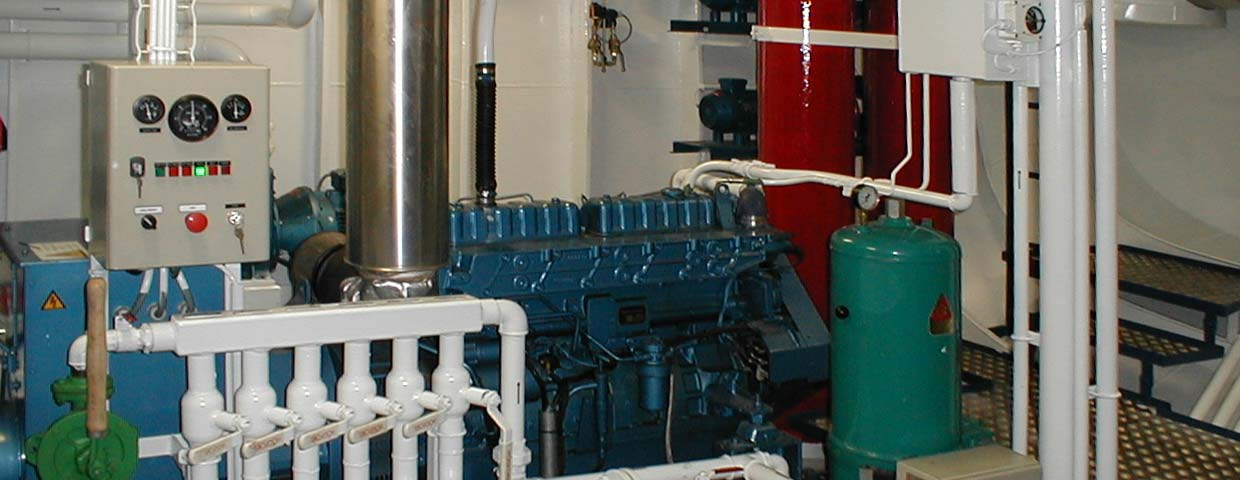 Hydraulics and CJC filter installation