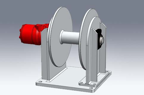 Landing winches